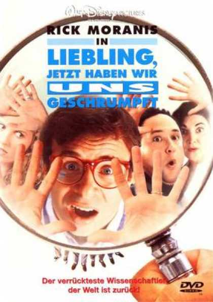 German DVDs - Honey We Shrunk Ourselves