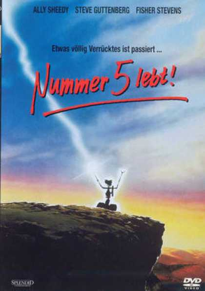 German DVDs - Short Circuit