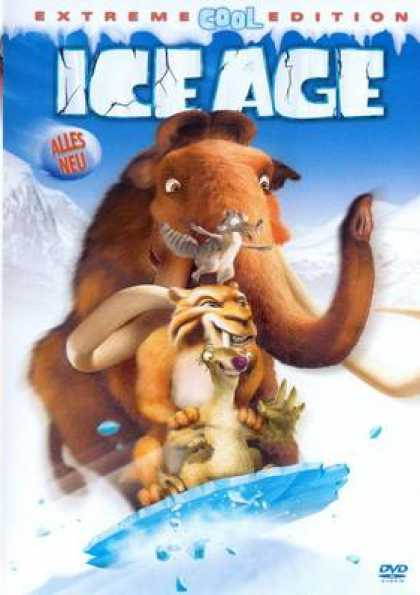 German DVDs - Ice Age Extreme Cool