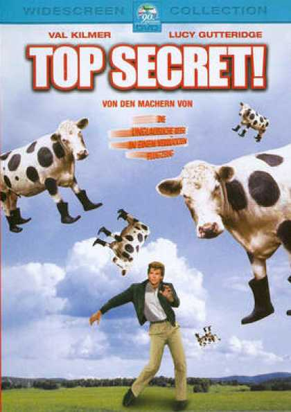 German DVDs - Top Secret