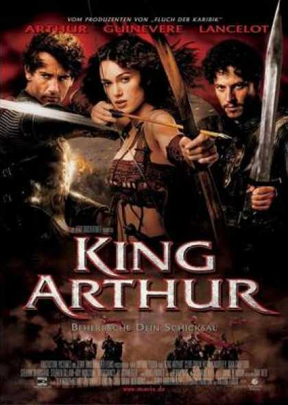 German DVDs - King Arthur