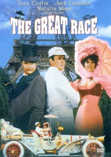 German DVDs - The Great Race