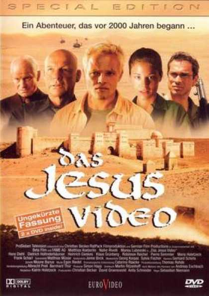 German DVDs - The Jesus Video