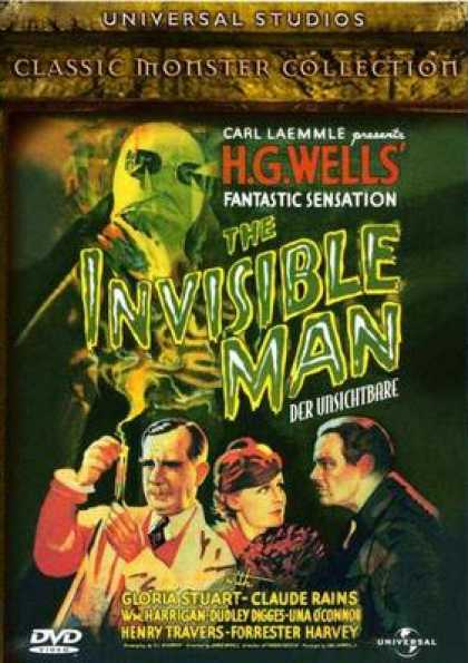 German DVDs - The Invisible Man