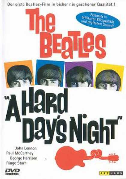 German DVDs - The Beatles A Hard Days Night
