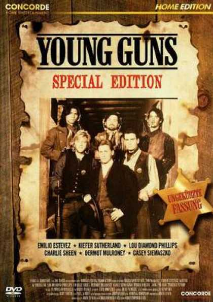 German DVDs - Young Guns