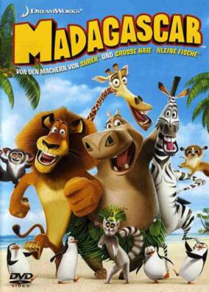 German DVDs - Madagascar