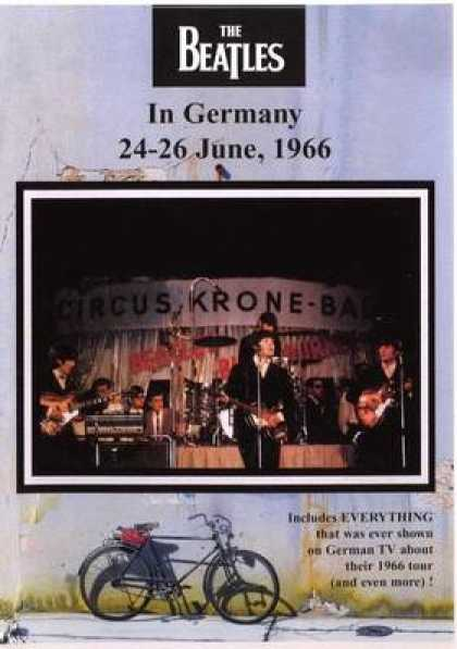 German DVDs - The Beatles In Germany