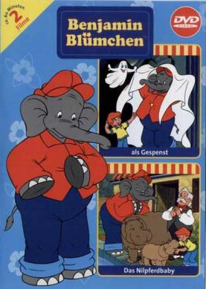 German DVDs - Benjamin The Elephant Volume 9