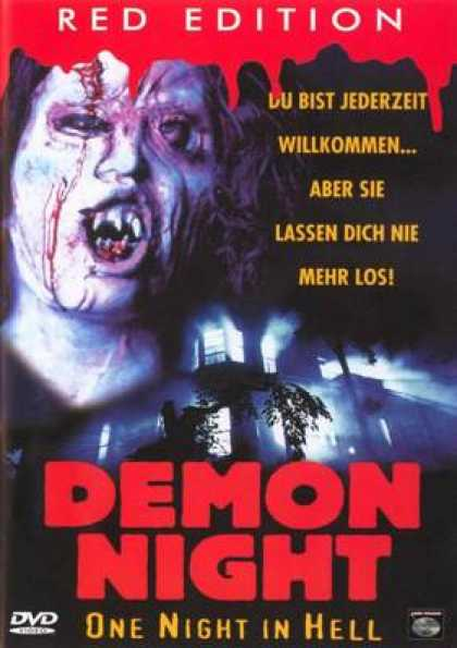 German DVDs - Demon Night One Night In Hell