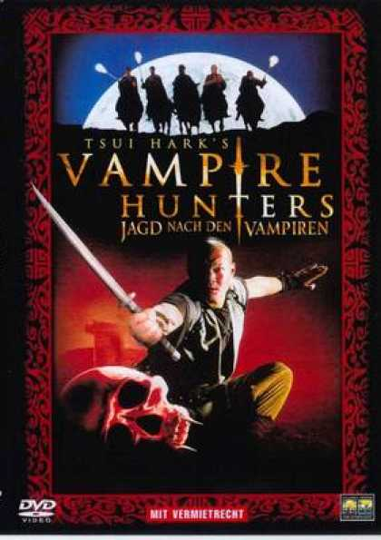 German DVDs - Vampire Hunters