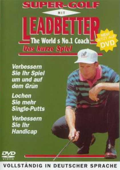 German DVDs - Super Golf With Leadbetter Volume 1
