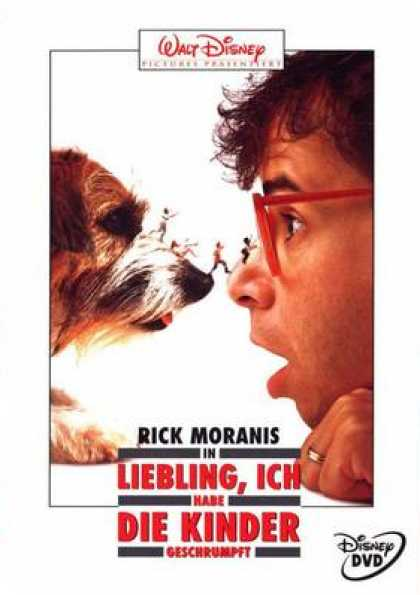 German DVDs - Honey I Shrunk The Kids