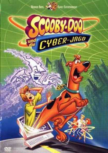 German DVDs - Scooby Doo And The Cyber Hunt