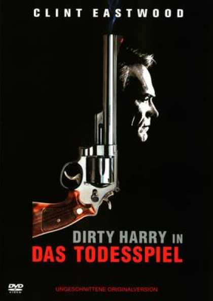German DVDs - Dirty Harry - Das Todesspiel