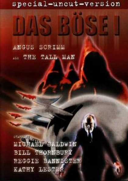 German DVDs - The Evil Special Uncut Version