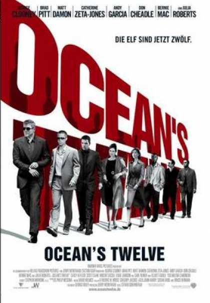 German DVDs - Oceans Twelve
