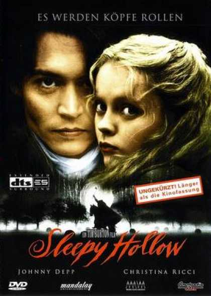 German DVDs - Sleepy Hollow (1999) GERMAN5