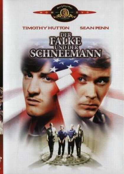 German DVDs - The Falcon And The Snowman