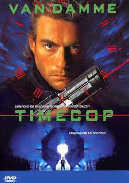 German DVDs - Timecop