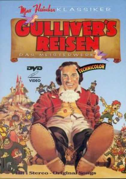 German DVDs - Gullivers Trips