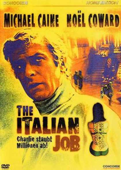 German DVDs - The Italian Job 1969
