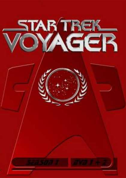German DVDs - Star Trek Voyager Season 01 Disc 1 - 2