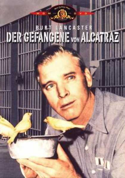 German DVDs - The Birdman Of Alcatraz