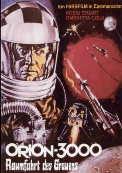 German DVDs - Orion 3000