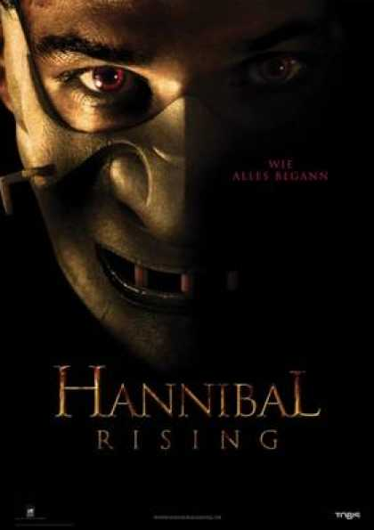 German DVDs - Hannibal Rising