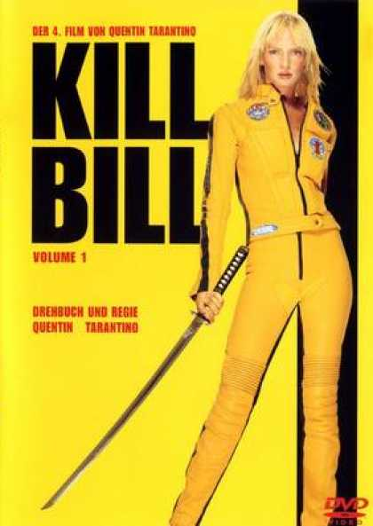 German DVDs - Kill Bill 1