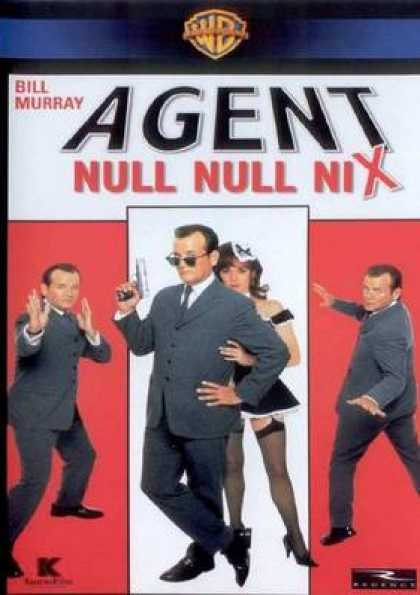 German DVDs - Agent Null Null Nix