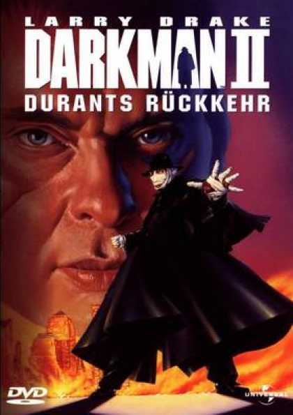 German DVDs - Darkman II
