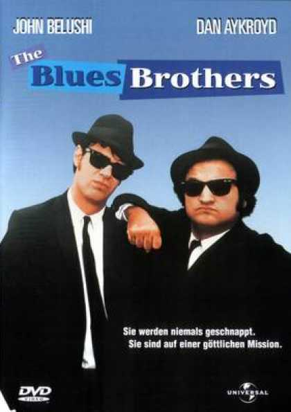 German DVDs - The Blues Brothers