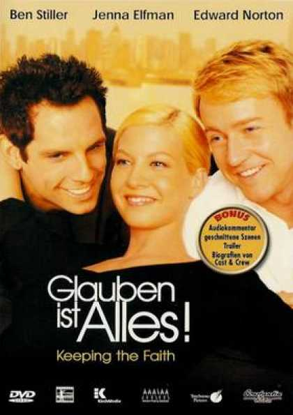 German DVDs - Keeping The Faith