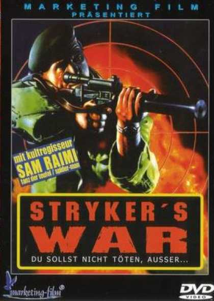 German DVDs - Strykers War