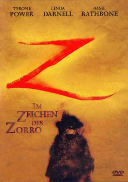 German DVDs - Z The Mark Of Zorro