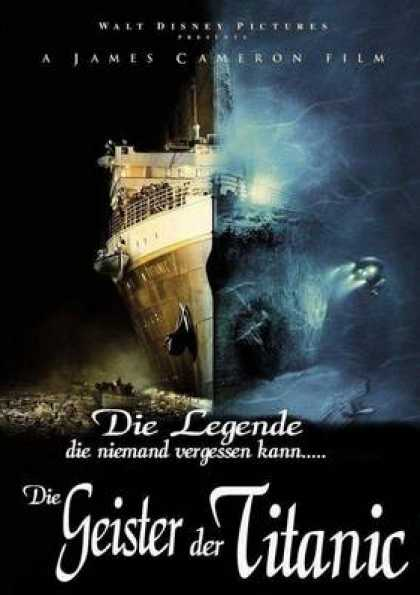 German DVDs - The Ghots Of Titanic