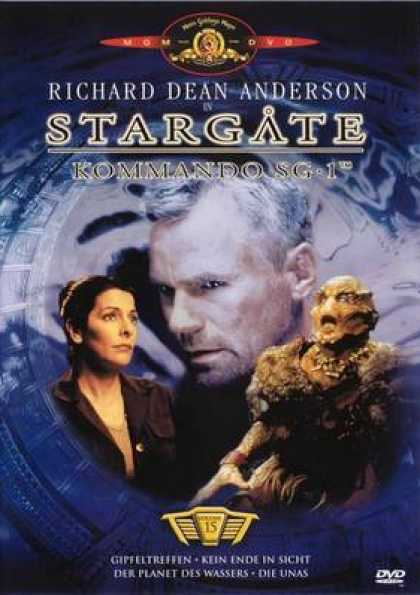 German DVDs - Stargate Commando Sg 1 Vol.15