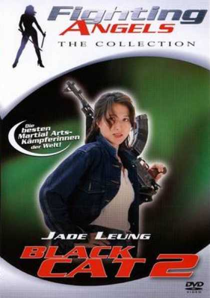 German DVDs - Fighting Angels The Collection Black Cat 2