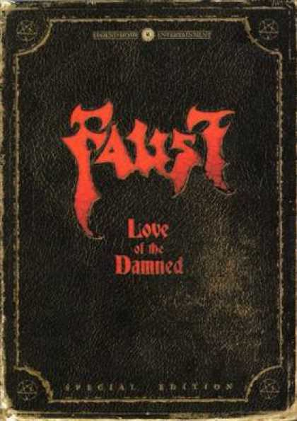 German DVDs - Faust Love Of The Damned Special