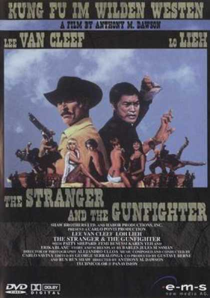 German DVDs - The Stranger And The Gunfighter
