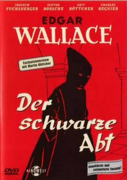German DVDs - Edgar Wallace Der Schwarze Abt