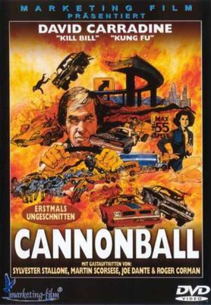 German DVDs - Cannonball