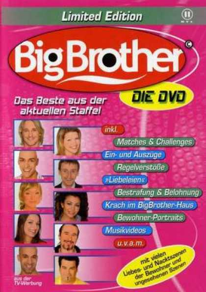 German DVDs - Big Brother 5 The Dvd Limited