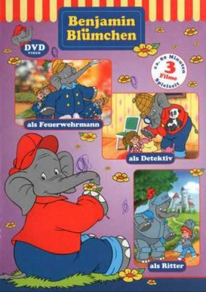 German DVDs - Benjamin The Elephant Vol 3