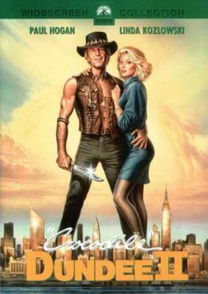 German DVDs - Crocodile Dundee 2