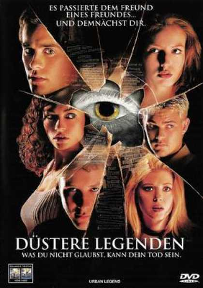 German DVDs - Urban Legends 1