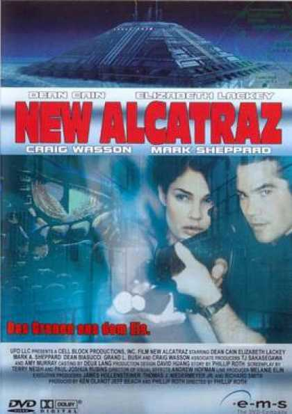 German DVDs - New Alcatraz