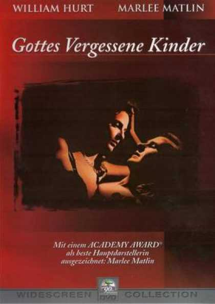 German DVDs - Children Of A Lesser God
